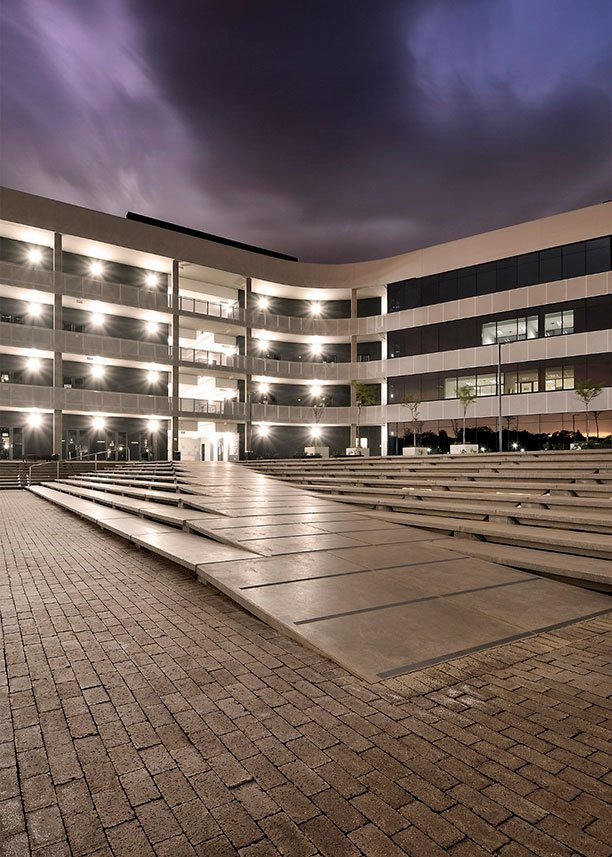 Corobrik graphite pavers used in Menlyn Learning Hub project
