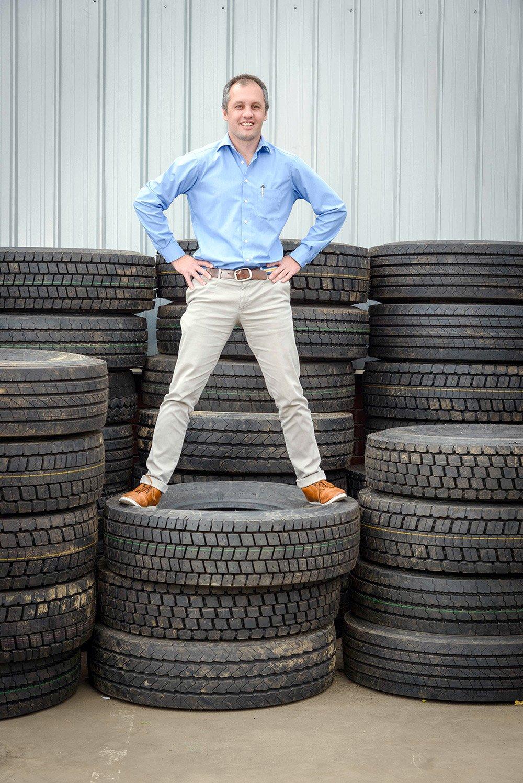 Dr Mehran Zarrebini talks about tyre retreading in South Africa