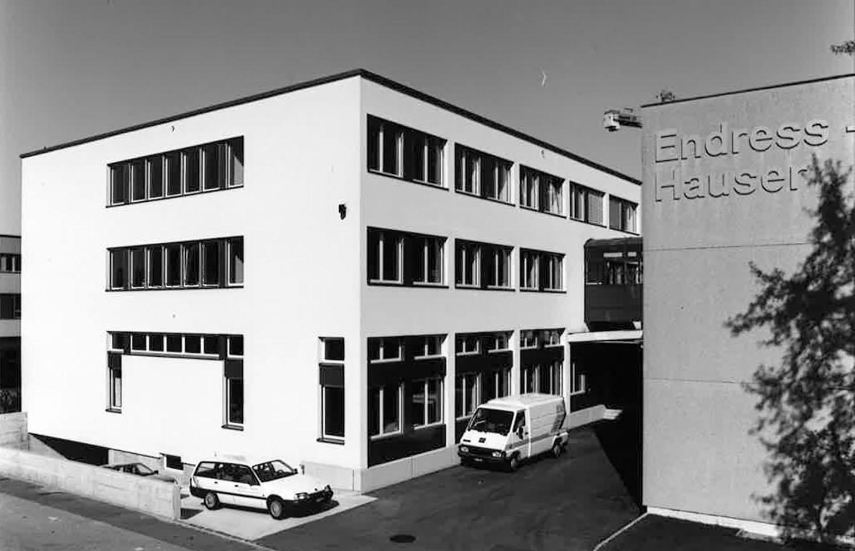 Endress+Hauser first sales centre in Switzerland
